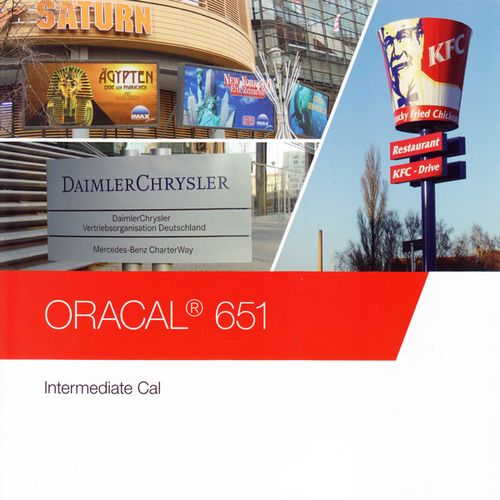 ORACAL 651 Intermediate Cal 032 hellrot 100 cm